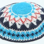 Hand Knitted Yarmulke, Knitted Kippah Hat 13 cm-5.10 Inc. KippaCo 002 hand knitted kippah, Fast shipping. US seller. Top quality kippah. 100% cotton, Bar Mitzvah kippah, Wedding Kippah. Best Kippah.