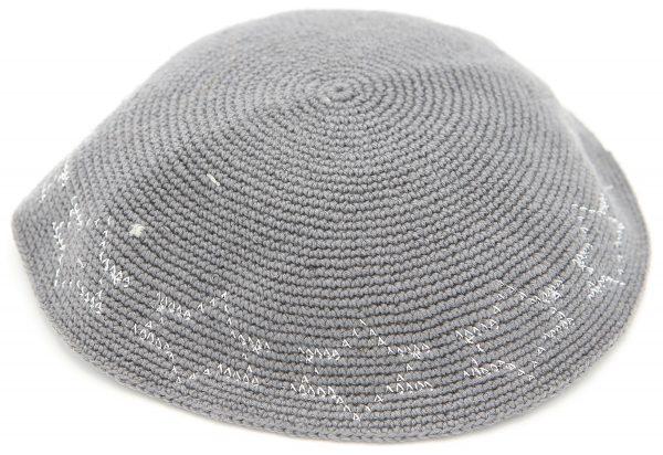 Hand Knitted Yarmulke, Knitted Kippah Hat 15.7 cm-6.2 Inc. KippaCo 112A hand knitted kippah, Fast shipping. US seller. Top quality kippah. 100% cotton, Bar Mitzvah kippah, Wedding Kippah. Best Kippah.