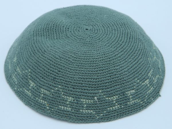 Hand Knitted Yarmulke, Knitted Kippah Hat 16.5 cm-6.5 Inc. KippaCo 102 hand knitted kippah, Fast shipping. US seller. Top quality kippah. 100% cotton, Bar Mitzvah kippah, Wedding Kippah. Best Kippah.