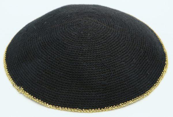 KippaCo Hand Knitted Yarmulke, Knitted Kippah Hat 14 cm-5.4 Inc 132 Hand Knitted Kippah, Kippah. 100% Cotton, Bar Mitzvah Kippah, Wedding Kippah. Best Kippah.