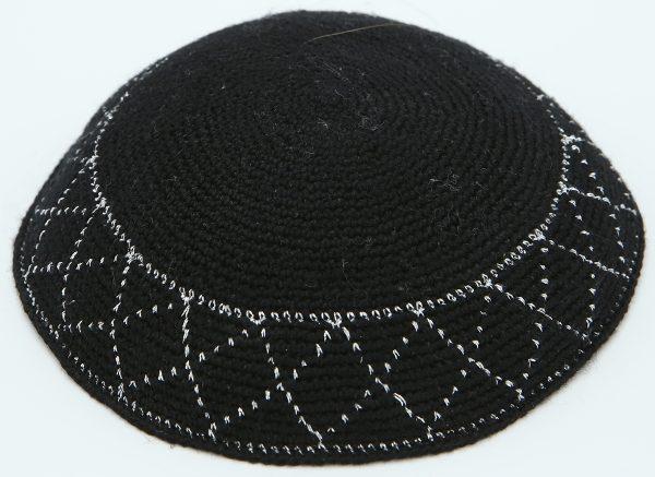 KippaCo Hand Knitted Yarmulke, Knitted Kippah Hat 15 cm-5.9 Inc 072- Hand Knitted Kippah, Kippah. 100% Cotton, Bar Mitzvah Kippah, Wedding Kippah. Best Kippah.