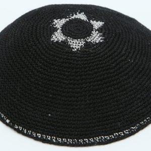 KippaCo Hand Knitted Yarmulke, Knitted Kippah Hat 15 cm-5.9 Inc 101- Hand Knitted Kippah, Kippah. 100% Cotton, Bar Mitzvah Kippah, Wedding Kippah. Best Kippah