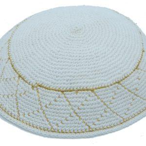 KippaCo Hand Knitted Yarmulke, Knitted Kippah Hat 15 cm-5.9 Inc 119 Hand Knitted Kippah,