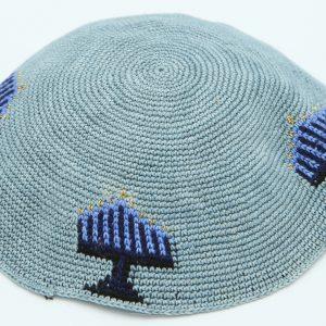 KippaCo Hand Knitted Yarmulke, Knitted Kippah Hat 15 cm-5.9 Inc 120 Hand Knitted Kippah, Kippah. 100% Cotton, Bar Mitzvah Kippah, Wedding Kippah. Best Kippah