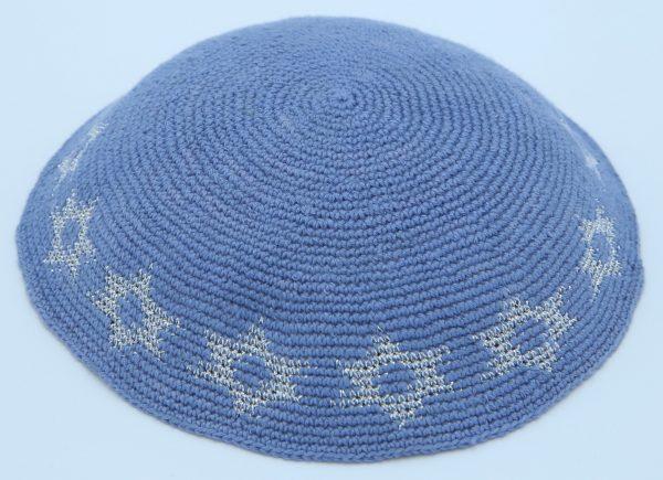KippaCo Hand Knitted Yarmulke, Knitted Kippah Hat 15 cm-5.9 Inc 125- Hand Knitted Kippah, Kippah. 100% Cotton, Bar Mitzvah Kippah, Wedding Kippah. Best Kippah.