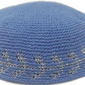 KippaCo Hand Knitted Yarmulke, Knitted Kippah Hat 15 cm 5.9 Inc 139-1-hand knitted kippah, kippah. 100 cotton, Bar Mitzvah kippah, Wedding Kippa