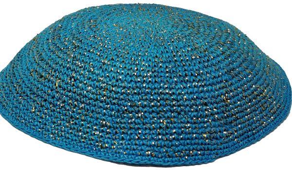 KippaCo Hand Knitted Yarmulke, Knitted Kippah Hat 15 cm 5.9 Inc 166-2-hand knitted kippah, kippah. 100 cotton, Bar Mitzvah kippah, Wedding Kippa